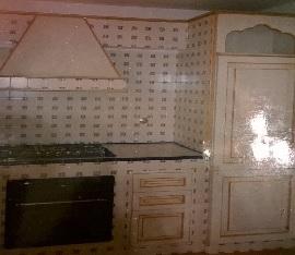Cucina in muratura stile provenzale