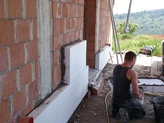 Isolamento termico esterno o ETICS